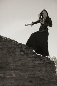 Free Gothic Girl Stock Photos - 9677303