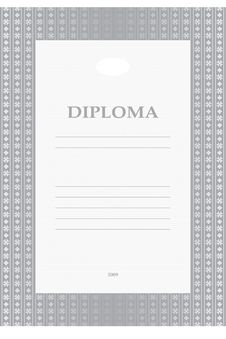 Diploma Royalty Free Stock Photo
