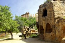 Free Temple Of Hera Stock Photo - 9678750