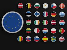 Free High Resolution European Union Symbols Royalty Free Stock Images - 9678839