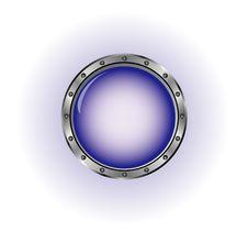 Free Blue Button Stock Photos - 9679513