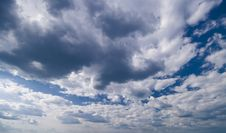 Free Wide Angle Blue Sky Royalty Free Stock Photography - 9679517