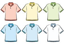 Free Polo Shirts - Vector Illustration Stock Images - 9679524