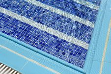 Free Blue Water In Swimming Pool Stock Photography - 9679552