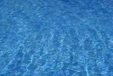 Free Blue Water In Swimming Pool Royalty Free Stock Photos - 9679578