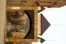 Free Poggioreale Entrance Stock Image - 9679681