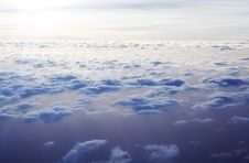 Free Cloudscape From Above Stock Photography - 9679872
