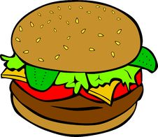 Free Food, Clip Art, Hamburger, Graphics Royalty Free Stock Photos - 96731878