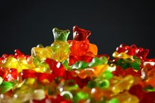 Free Gummy Bear, Macro Photography, Gummi Candy, Confectionery Stock Image - 96732651