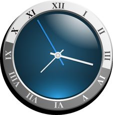 Free Blue, Clock, Product Design, Product Stock Photos - 96735103