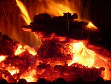 Free Fire, Heat, Flame, Geological Phenomenon Royalty Free Stock Photos - 96740228