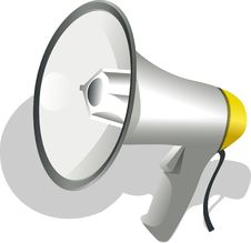 Free Megaphone, Product Design, Sports Equipment, Product Stock Image - 96751881