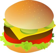 Free Hamburger, Cheeseburger, Food, Fast Food Royalty Free Stock Image - 96758596