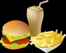 Free Fast Food, Food, Junk Food, Product Design Royalty Free Stock Images - 96758729