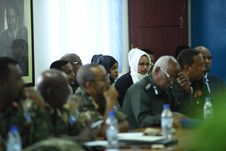 Free 2017_07_24_Joint_AMISOM_FGS_Conference-10 Stock Photography - 96792982