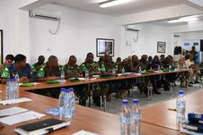 Free 2017_07_24_Joint_AMISOM_FGS_Conference-3 Stock Image - 96793001