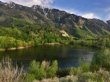 Free Mountain Lake Royalty Free Stock Photo - 96793015
