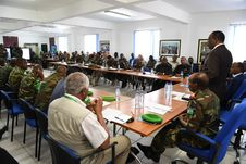 Free 2017_07_24_Joint_AMISOM_FGS_Conference-5 Stock Photo - 96793190