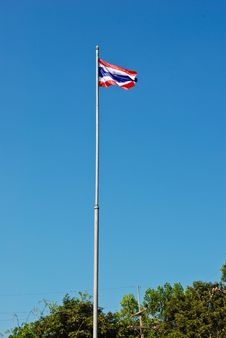 Free The Thai Flag Stand In Front Of School Stock Photos - 96793223