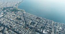 Free Thessaloniki Aerial View Royalty Free Stock Photos - 96793588