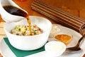 Free Soup An Okroshka Stock Photography - 9681262