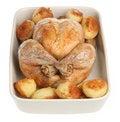 Free Roast Chicken Stock Photography - 9682392