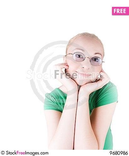 Free Happy Girl Royalty Free Stock Image - 9680986