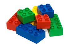 Free Colourful Bricks Royalty Free Stock Photos - 9680128