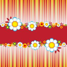 Free Floral Banner Stock Photos - 9680553