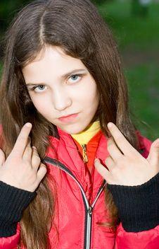 Free Portrait Teen Girl Stock Photography - 9680812