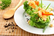 Free Fragrant Salad Royalty Free Stock Photo - 9681135