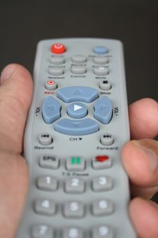 Free TV Remote 2 Stock Images - 9681484