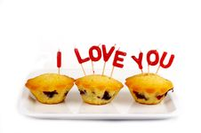 Free Cupcakes With Candle Royalty Free Stock Photography - 9682207