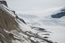 Free Columbia Icefields Royalty Free Stock Image - 9682236