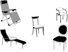 Free Chairs Stock Photography - 9682242