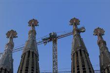 Free Sagrada Familia Royalty Free Stock Photo - 9682335
