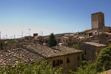 Free View Over Rooftops In San Gimignano, Tuscany,Italy Royalty Free Stock Photos - 9682698