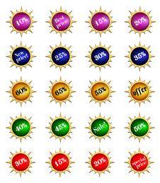 Badge Royalty Free Stock Image