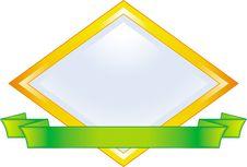 Vector Emblem Royalty Free Stock Photo