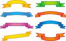 Free Ribbons  Illustration (Vector) Royalty Free Stock Photo - 9683475