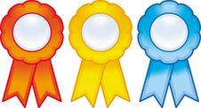 Free Award Ribbons  (Vector) Stock Images - 9683784