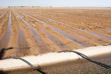 Free Irrigation Canal & Siphon Tubes Stock Image - 9683811