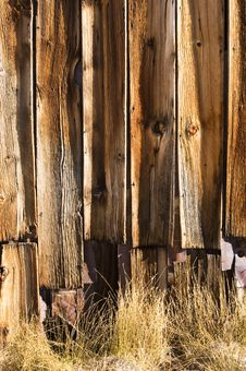 Free Weathered Planks Royalty Free Stock Photo - 9683885