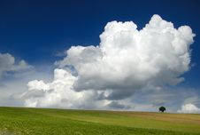 Free Loneliness Among Clouds Stock Photos - 9683923