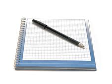 Free Pen And Notebook Royalty Free Stock Photos - 9684148