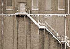 Free Fire Escape Stock Photography - 9684762