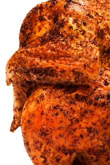 Delicious Grilled Chicken Stock Image