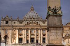 Free St. Peter S Basilica Royalty Free Stock Photos - 9686978