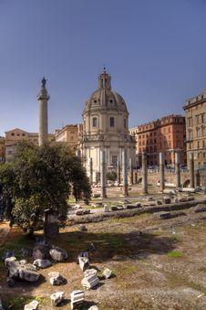 Free Trajan Forum Stock Photo - 9686990