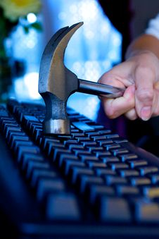 Office Keyboard Royalty Free Stock Images